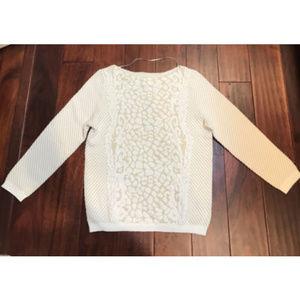 Worthington Long Sleeve Textured Sweater